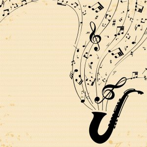 Jazz music notes